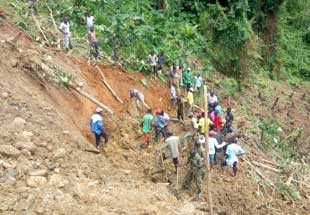 Landslide toll death cases in Kasese rises to eight.