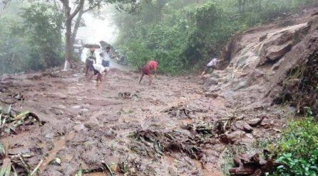 People suspected to have died as result of landslides in Kasese  has reached 7.