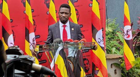 Kyagulanyi officially applies to supreme court to withdraw presidential election petition.