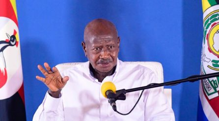Museveni to address the Nation at 8pm on COVID-19.