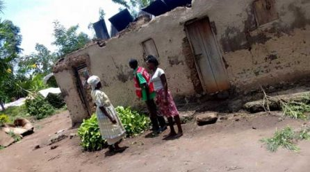 Heavy rains destroys allot of properties in Kirembe cell.