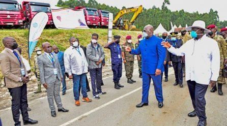 Museveni, Tshisekedi commission road projects btn Uganda & DRC.
