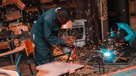 Every job counts in every one's life-Mr. Hasani the welder said.